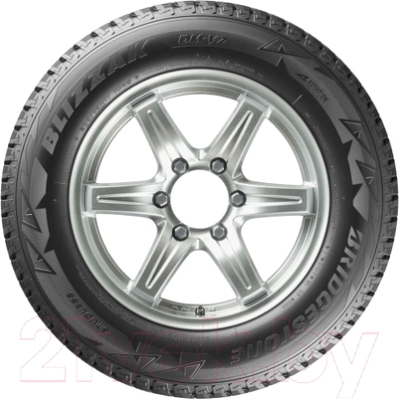 Зимняя шина Bridgestone Blizzak DM-V2 255/55R20 110T