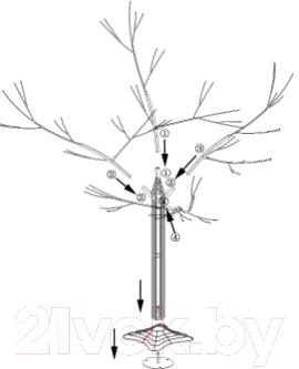 Светодиодное дерево Neon-Night Сакура 531-247 (1.2м, теплый белый)