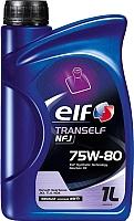 Трансмиссионное масло Elf Tranself NFJ 75W-80 / 194757 (1л) -