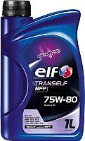 Трансмиссионное масло Elf Tranself NFP 75W-80 / 195003 (1л) -