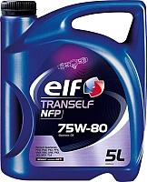 Трансмиссионное масло Elf Tranself NFP 75W-80 / 195576 (5л) -