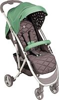 Детская прогулочная коляска Happy Baby Eleganza (зеленый) -