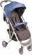 Детская прогулочная коляска Happy Baby Eleganza (синий) -