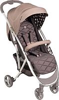 Детская прогулочная коляска Happy Baby Eleganza (бежевый) -
