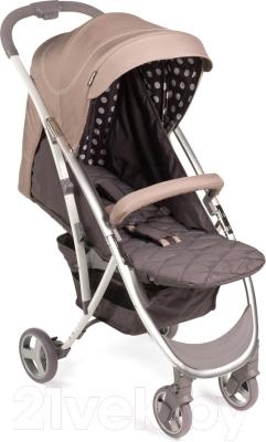 Детская прогулочная коляска Happy Baby Eleganza (бежевый)