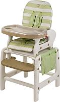 Стульчик для кормления Happy Baby Oliver V2 (зеленый) -