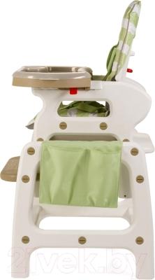 Стульчик для кормления Happy Baby Oliver V2 (зеленый)