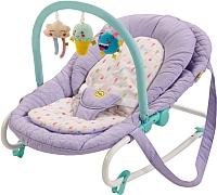 Детский шезлонг Happy Baby Nesty (фиолетовый) -
