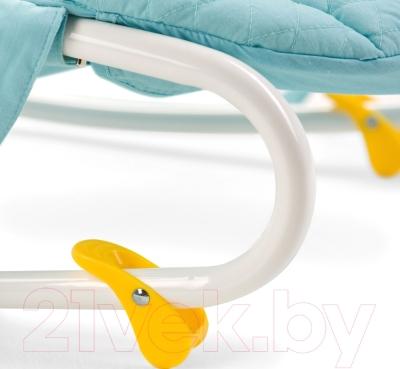 Детский шезлонг Happy Baby Nesty (голубой)