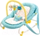 Детский шезлонг Happy Baby Nesty (голубой) -