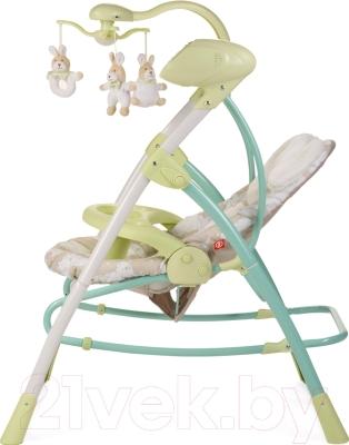 Качели для новорожденных Happy Baby Luffy (зеленый)