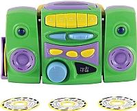 Музыкальная игрушка Happy Baby CD проигрыватель с дисками (зеленый) -