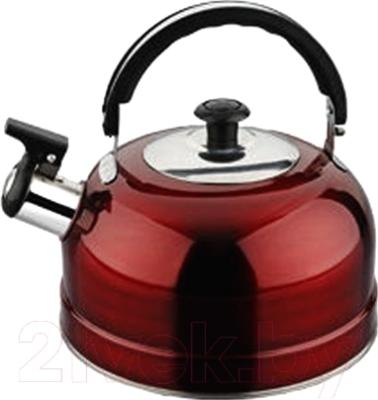 Чайник со свистком Irit IRH-418 (красный)