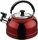 Чайник со свистком Irit IRH-418 (красный) -