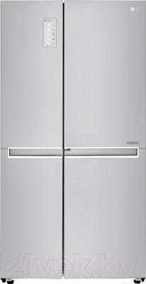 Холодильник с морозильником LG GC-M247CABV