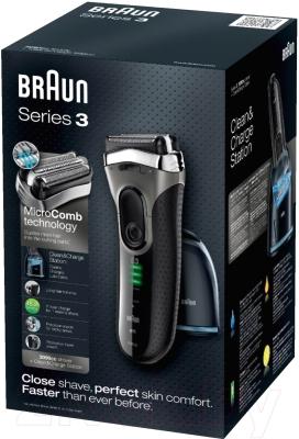 Электробритва Braun 3090cc Series 3 (81480174)