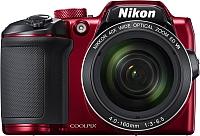 Компактный фотоаппарат Nikon Coolpix B500 (красный) -