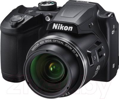 Компактный фотоаппарат Nikon Coolpix B500 (черный)