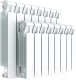 Радиатор биметаллический Rifar Monolit 350 (10 секций) -