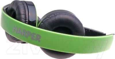 Наушники-гарнитура Harper HB-400 (зеленый)