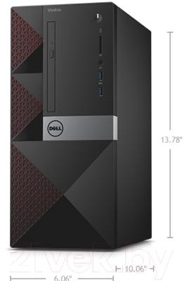 Системный блок Dell Desktop Vostro 3650 MT ( 272718168)