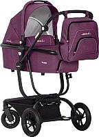 Детская универсальная коляска EasyGo Soul 2 в 1 (фиолетовый) -