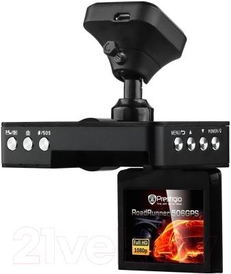 Автомобильный видеорегистратор Prestigio RoadRunner 506 GPS / PCDVRR506GPS