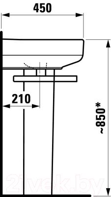Умывальник Laufen Form 8106730001041