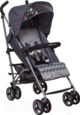 Детская прогулочная коляска Coto baby Soul 2016 (06/серый)