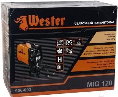 Полуавтомат сварочный Wester MIG120
