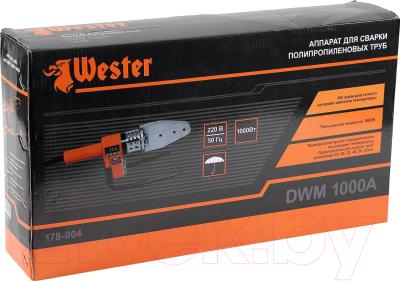 Паяльник для полипропиленовых труб Wester DWM1000A