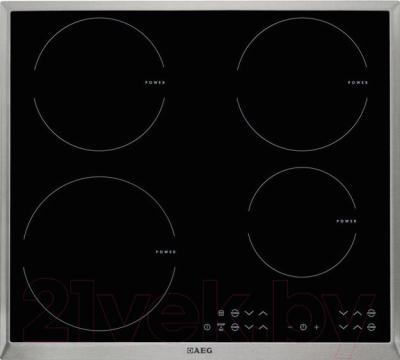 Индукционная варочная панель AEG HK563420XB