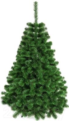 Ель новогодняя искусственная GreenTerra С зелеными кончиками (1.2м)