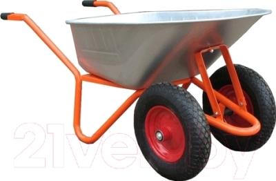 Тачка строительная Altrad T-066/B 85L 2 колеса, пневмо (ось Сва)