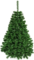 Ель новогодняя искусственная GreenTerra С зелеными кончиками (1.8м) -