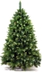 Сосна новогодняя искусственная GreenTerra Сибирская с шишками зелеными (1.8м) -