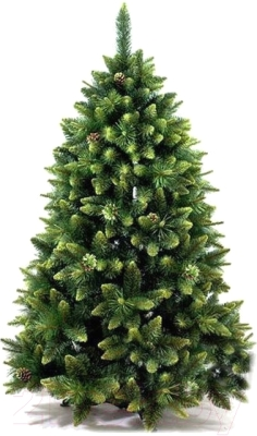 Сосна искусственная GreenTerra Сибирская с шишками зелеными (2.2м)