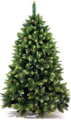 Сосна искусственная GreenTerra Сибирская с шишками зелеными (2.5м)