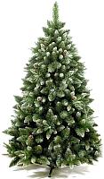 Сосна новогодняя искусственная GreenTerra Сибирская с шишками серебро (1.5м) -