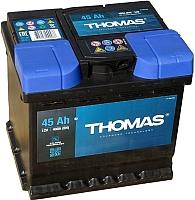 Автомобильный аккумулятор THOMAS 45 А/ч -