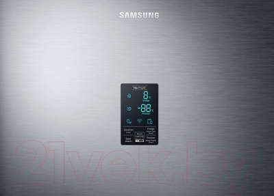 Холодильник с морозильником Samsung RB34K6220SS