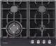 Газовая варочная панель Pyramida PFE 643 Black Luxe -