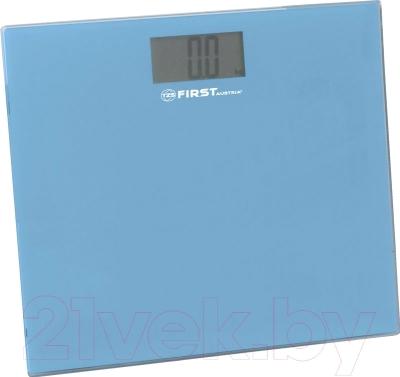 Напольные весы электронные FIRST Austria FA-8015-2 (синий)