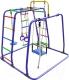 Детский спортивный комплекс Формула здоровья Игрунок-Т Плюс (синий/радуга) -