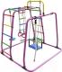 Детский спортивный комплекс Формула здоровья Игрунок-Т Плюс (розовый/радуга) -