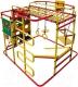 Детский спортивный комплекс Формула здоровья Мурзилка-S (красный/радуга) -