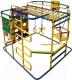 Детский спортивный комплекс Формула здоровья Мурзилка-S (синий/радуга) -