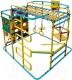 Детский спортивный комплекс Формула здоровья Мурзилка-S (голубой/радуга) -