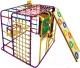 Детский спортивный комплекс Формула здоровья Кубик-У Плюс (фиолетовый/радуга) -