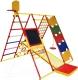 Детский спортивный комплекс Формула здоровья Вершинка-W Плюс (красный/радуга) -